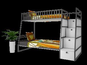 Giường tầng sắt đa năng GT04